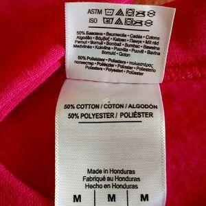 Gildan Tops - NWOT Pink sweatshirt with moose and Alaska, medium